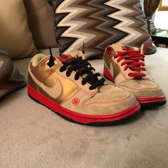 Nike Sb Dunk Low Pro Money Cat
